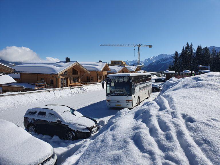 De Fennema van Hool in de Oostenrijkse winterzon 2